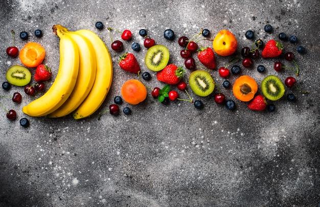 Fruits et baies d'été