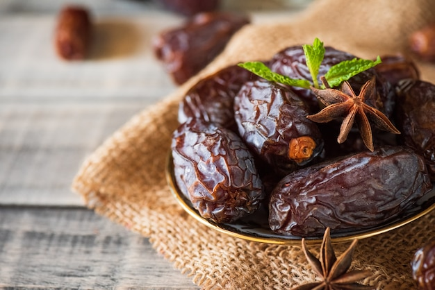 Fruits de dates