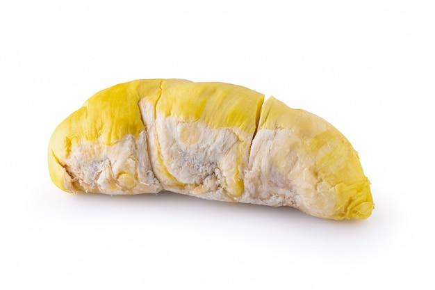 Fruits durian frais isolés