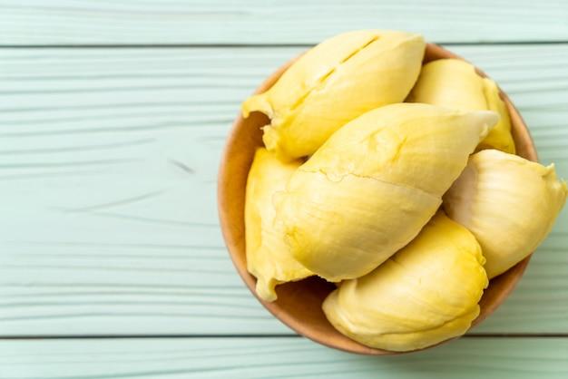 Fruits durian frais