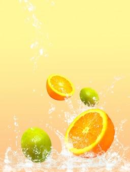Fruits éclaboussés