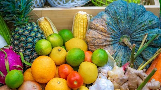 Fruits frais et légumes