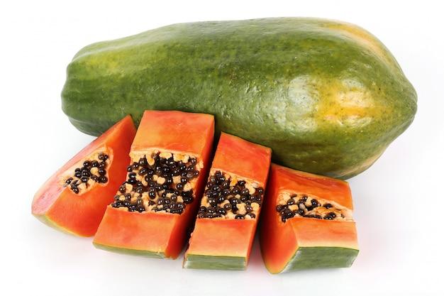 Fruits frais de papaye