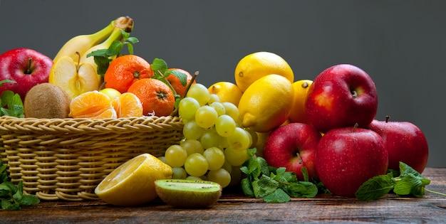 Fruits et légumes sains et savoureux