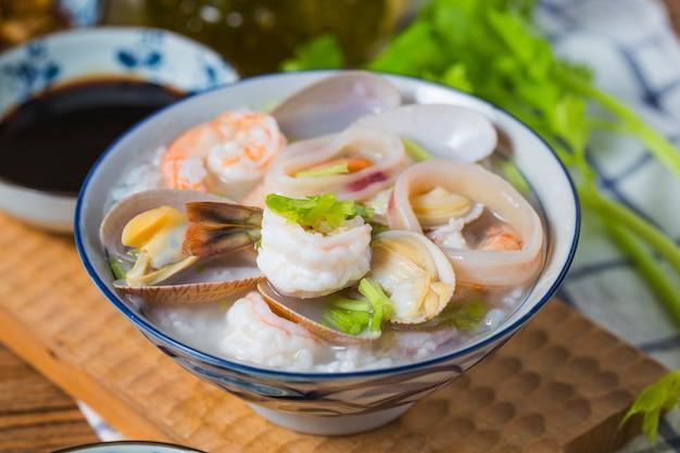 Fruits de mer nutritifs et délicieux