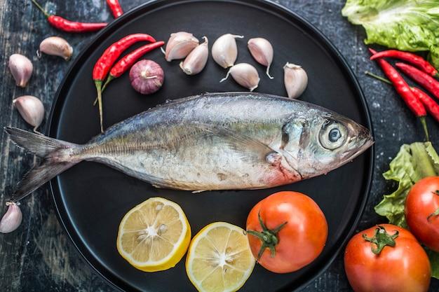 Fruits de mer, poissons