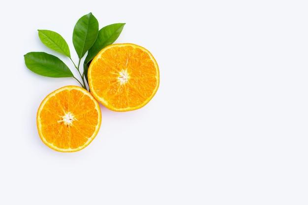 Fruits Orange. Les Agrumes Photo Premium