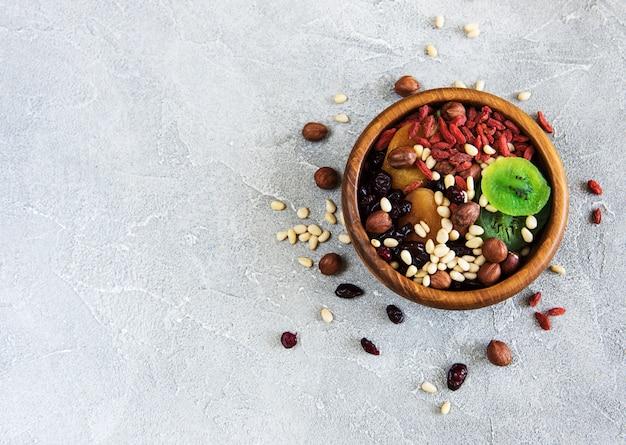 Fruits secs et noix