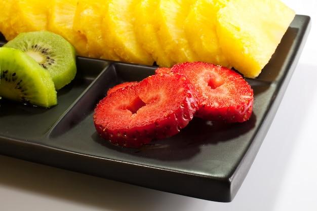 Fruits tranchés