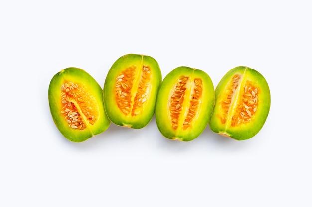 Fruits tropicaux, cantaloup thaï ou melon
