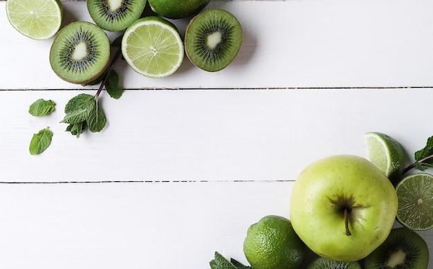 Fruits verts