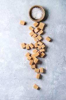 Fudge au caramel salé