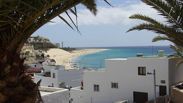 Fuerteventura jandia canari côte d'été