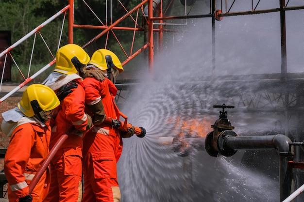 Fuite de gaz du tuyau et de la vanne