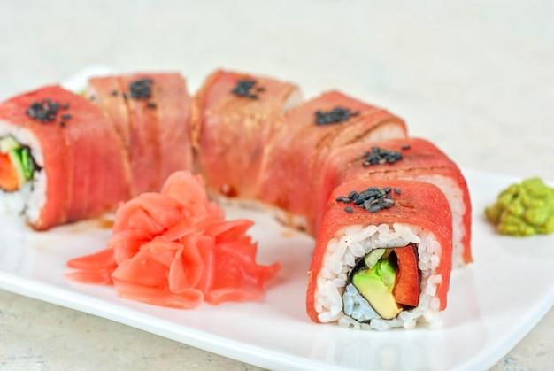 Fuji sushi rolls