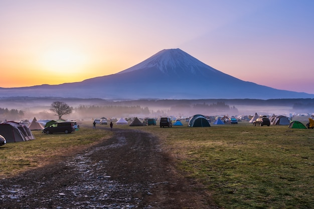 Fujinomiya shizuoka japonais du camping fumotoppara
