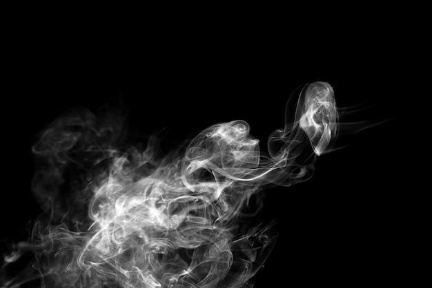 Fumée arrière et blanc