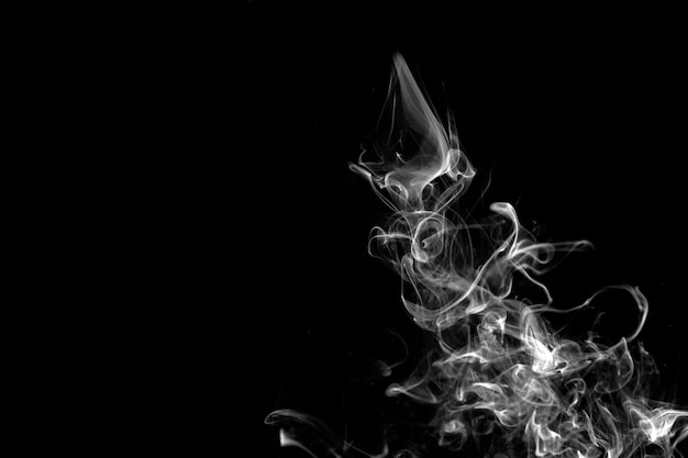 Fumée blanche épaisse