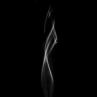 Fumée blanche montante
