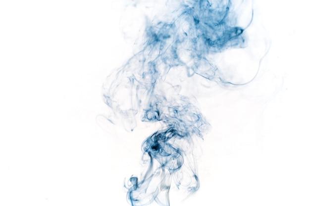 Fumée bleue moelleuse