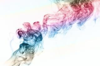 Fumée, les odeurs, les flux de