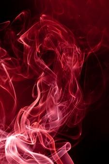 Fumée rouge