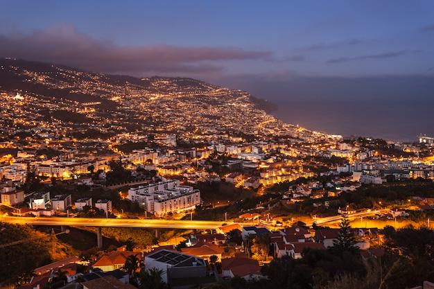 Funchal vue aérienne