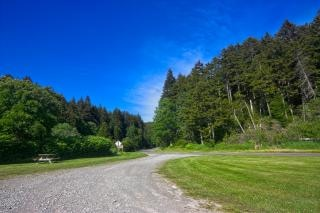 Fundy parc paysage hdr gravier
