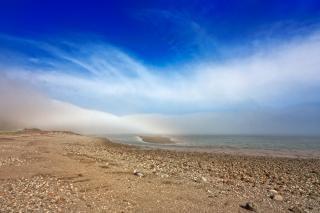 Fundy parc de la plage hdr photo