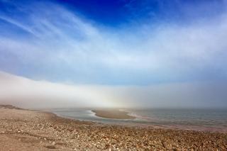 Fundy parc de la plage hdr