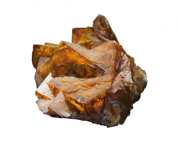 La fuorite ou spath fluor est une forme minérale de fluorure de calcium, caf2