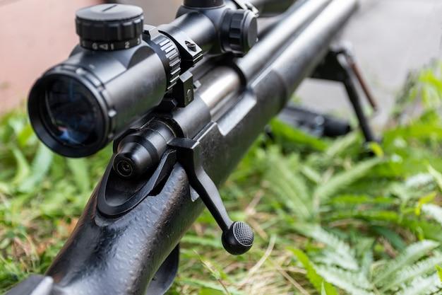 Fusil avec lunette