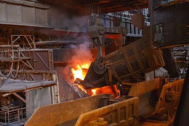 Fusion du métal en fonderie