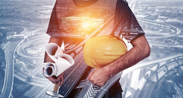Futur projet d'ingénierie de construction de bâtiments