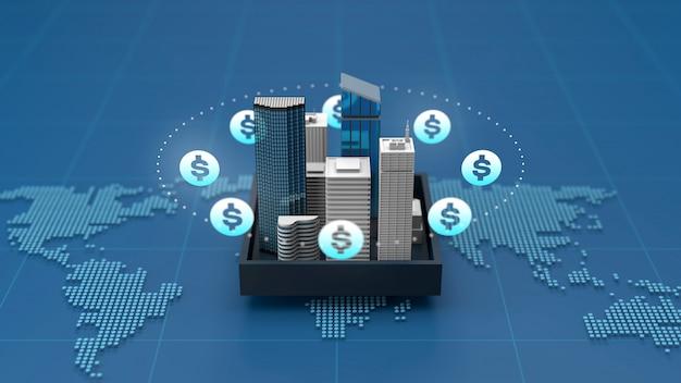 Gagner de l'argent avec des investissements immobiliers et immobiliers