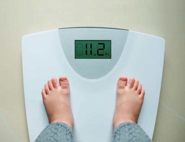 Gain de poids sain pour bébé
