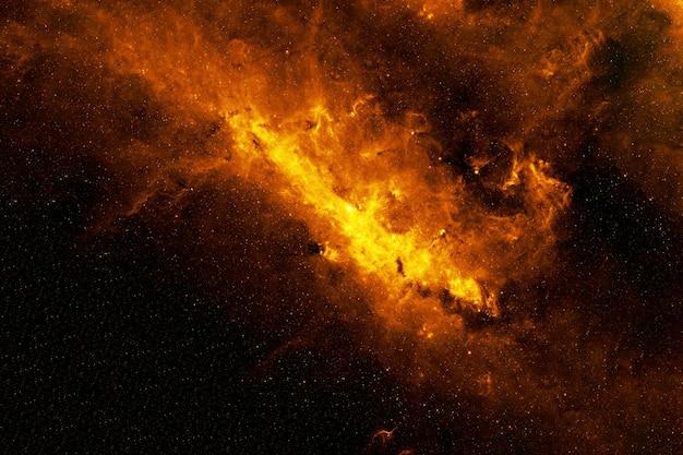 Galaxie de feu les éléments de cette image fournis par la nasa étaient. photo de haute qualité