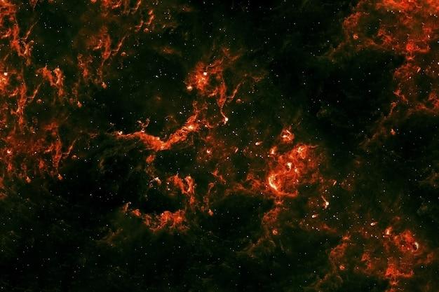 Galaxie rouge dans l'espace lointain. éléments de cette image fournis par la nasa. photo de haute qualité