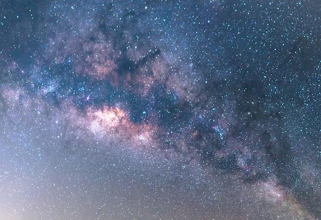 La galaxie de la voie lactée.