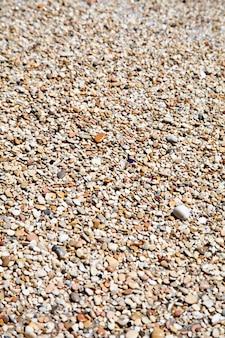 Galets sur une plage