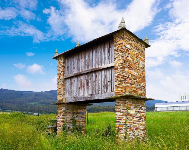 Galicia horreo maison de l'agriculture traditionnelle espagne