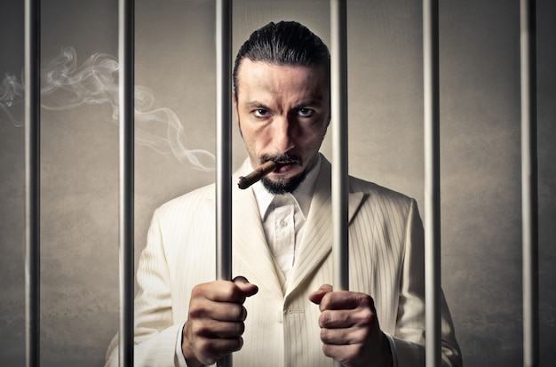 Gangster en prison