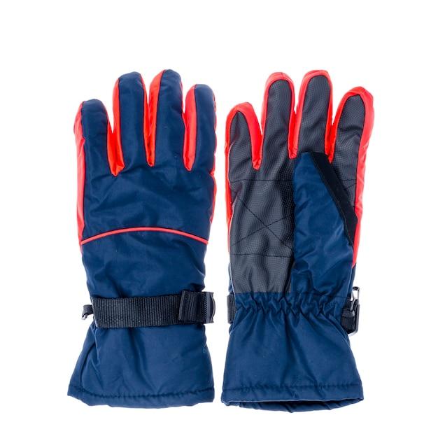 Gants imperméables pour les sports d'hiver.