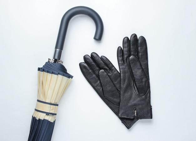 Gants et parapluie pour femmes d'automne