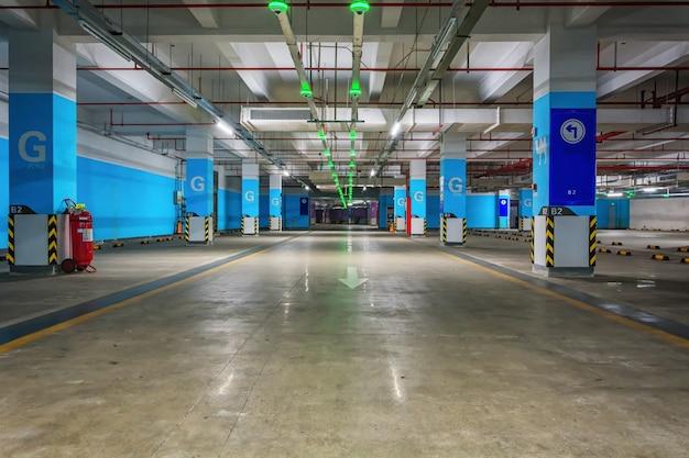 Garage souterrain souterrain