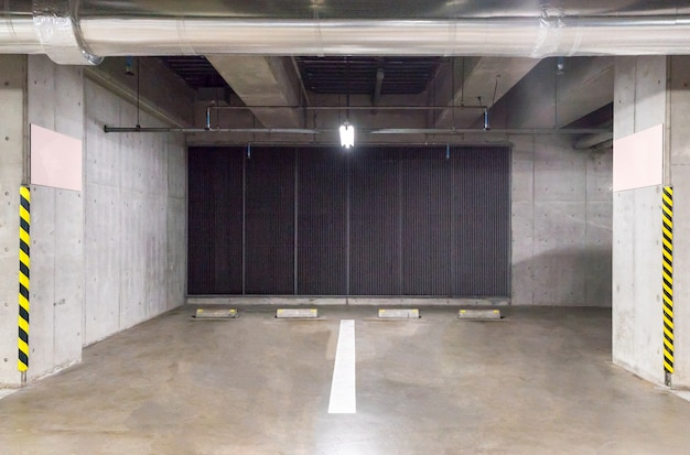 Garage de stationnement souterrain