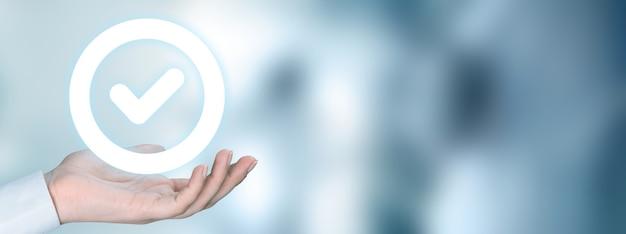 Garantie d'assurance de certification de contrôle de qualité standard en main