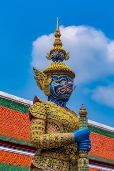 Gardien de démon dans le grand palais, bangkok