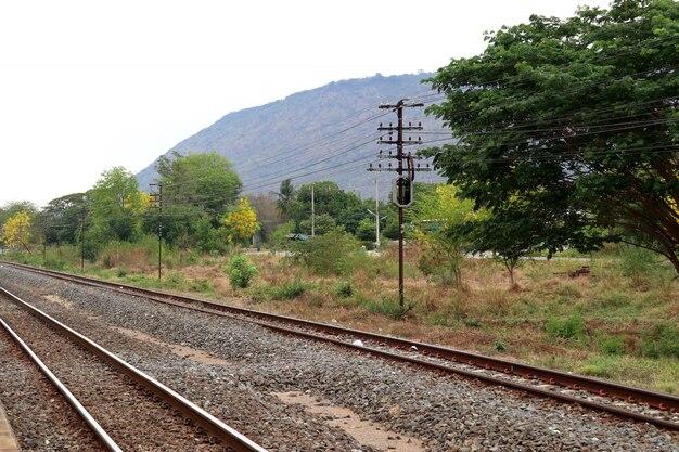 Gare et chemin de fer