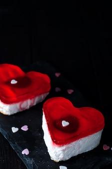 Gâteau d'anniversaire pour la saint valentin